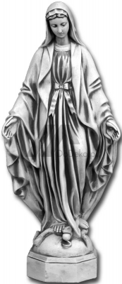 Hellig statue av Our Lady Immaculate - 118 cm
